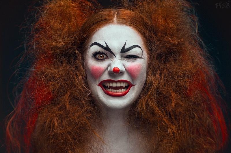 clown costume for ladies