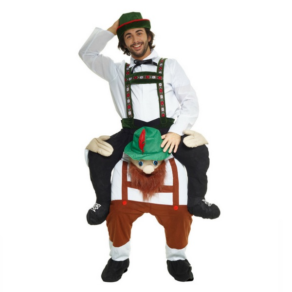 Bearded Bavarian Piggyback Costume