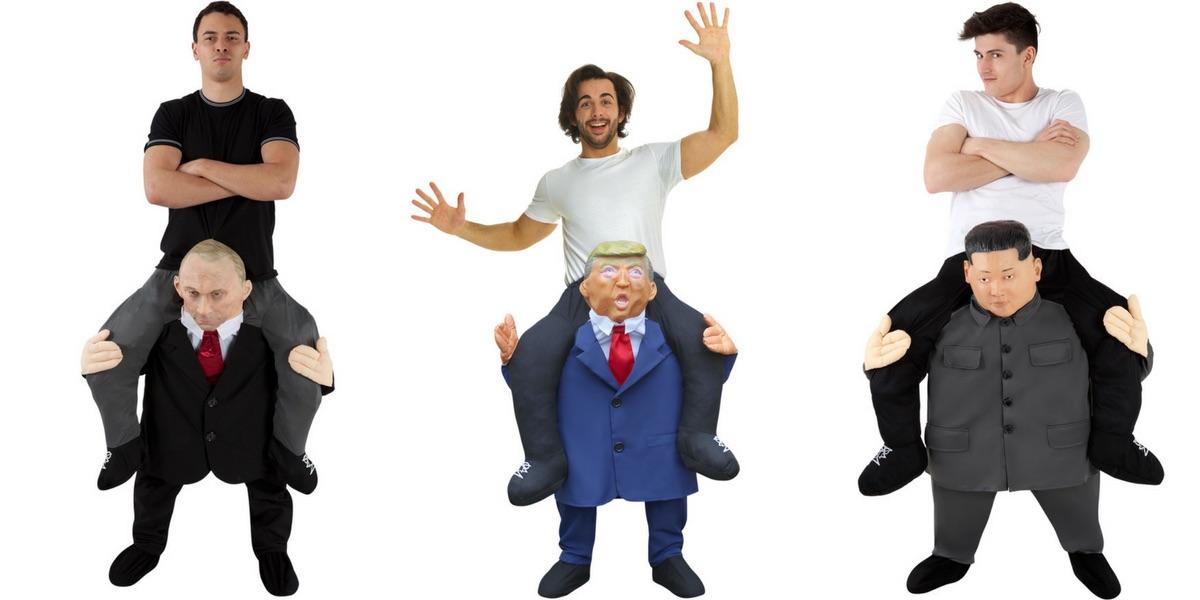 Political Piggyback Costumes