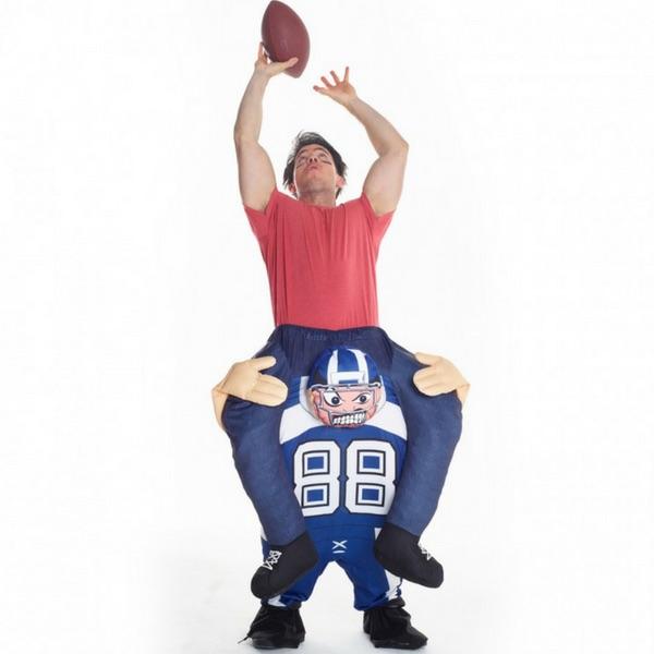 American Footballer Piggyback Costume