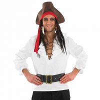Deluxe White Pirate Shirt