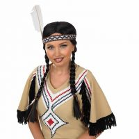 Native American Indian Wig