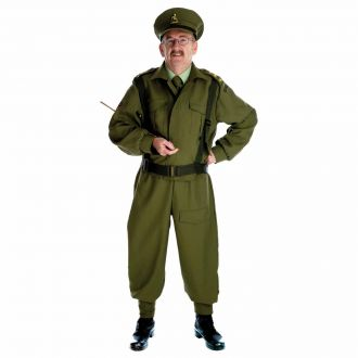 Mens Homeguard Soldier Costume