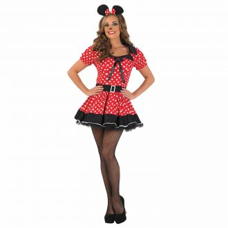 Womens Missie Mouse Costume