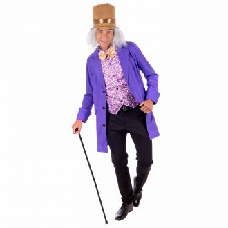 Mens Chocolate Factory Owner Costume