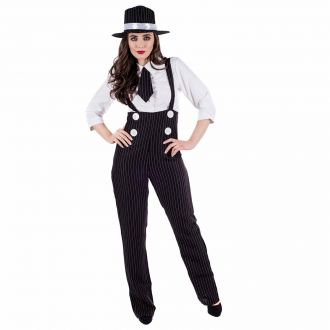 Womens 20s Gangster Costume