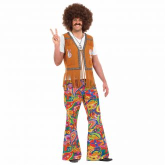 Mens 60s Psychedelic Flares