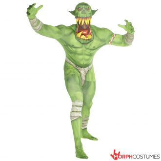 Jaw Dropper Orc Morphsuit - Green