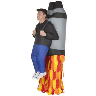 Jet Pack Giant Ride On Inflatable Costume